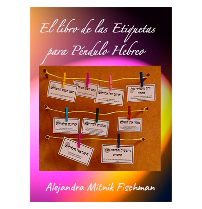 el libro de las etiquetas para péndulo hebreo